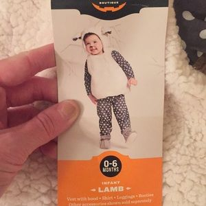 Other - Infant lamb costume size 0-6 months nwt